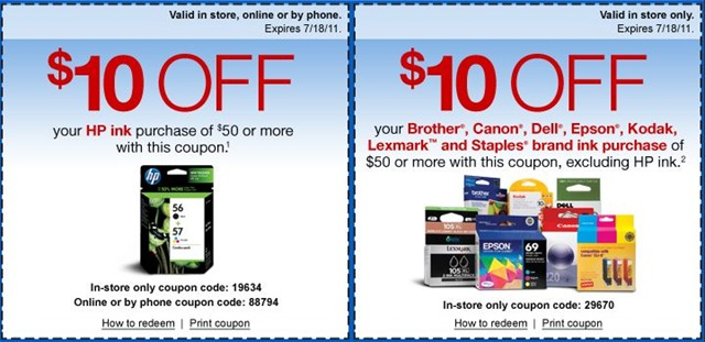photo about Epson Ink Coupon Printable named Printer Ink Archives - Totally free Printable Discount codes
